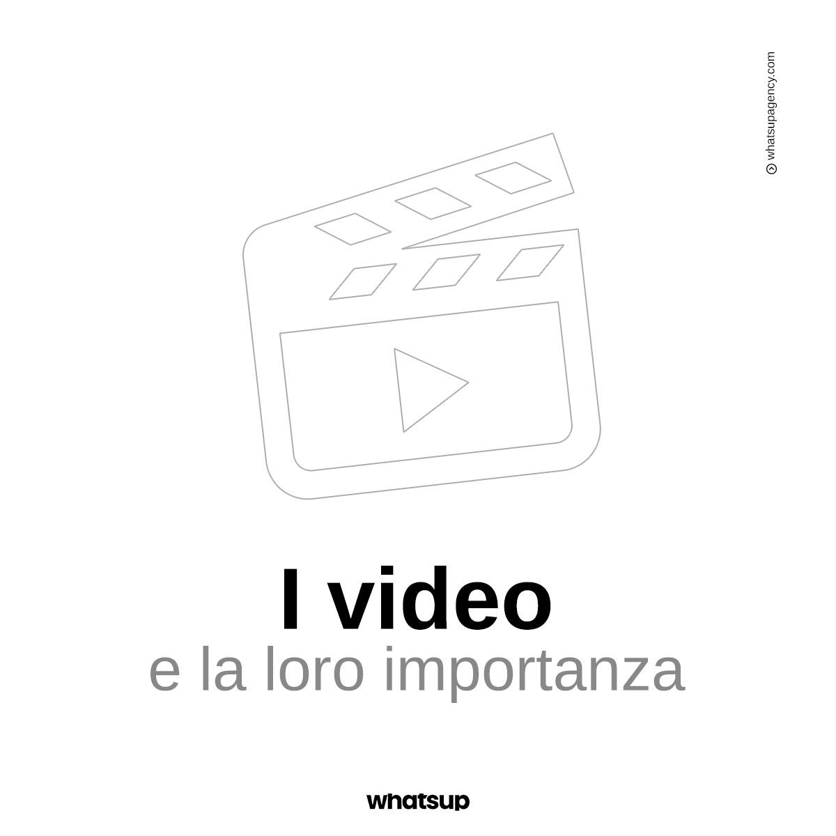 L'importanza dei format video sui social